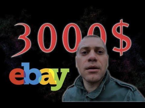 Ebay Олег Давыденко сколько зарабатывает с Ебей? 3000$ или 40 000 рублей?