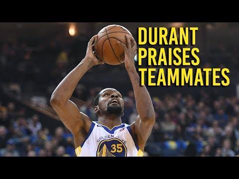 Durant praises teammates in win over Lakers