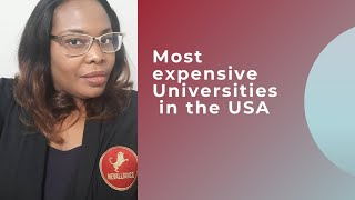 Top 20 most expensive universities in the USA