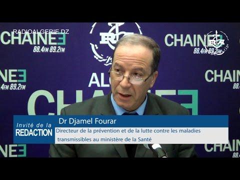 Dr Djamel Fourar, directeur de la prévention et de la lutte contre les maladies transmissibles