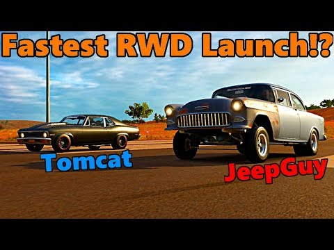 Forza Horizon 3 | Napalm Nova vs Tri 5 By Fire, FULLY BUILT + BEST RWD LAUNCH EVER!? Hoonigan Pack