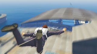 Crazy Superman Challenge! (GTA 5 Funny Moments)