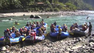 ACS Beirut in Nepal Adventure Trip 2012 with Borderlands Sri Lanka