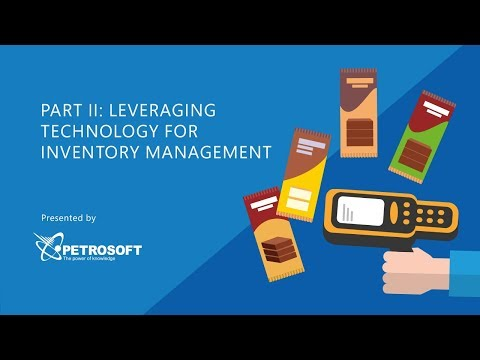 Inventory Management - Leverage Technology