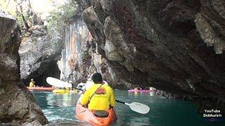 Thailand Krabi mit dem Seakayak um Koh Hong Koh Lao Bi Le Kayak Tour Hong Koh