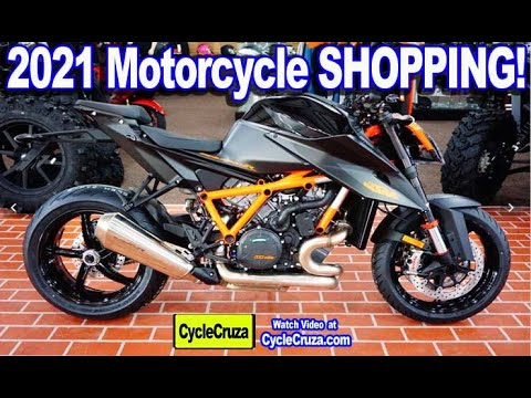2021 NEW Motorcycle Shopping - My DREAM Bike