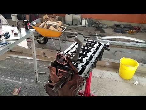 How to turbo BMW m50/m52 engine, S02E05 Oil pump, clutch and gearbox.