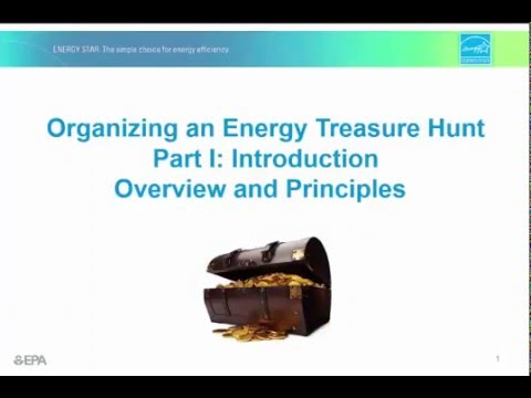 Organizing an Energy Treasure Hunt Part 1
