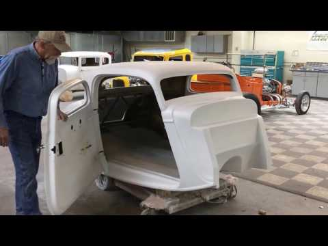 Spirit Cars 1934 Ford 3 Window Fiberglass Coupe Body