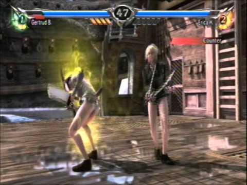 Soul Calibur V Anime Battles: Gertrud Barkhorn Vs Erica ...