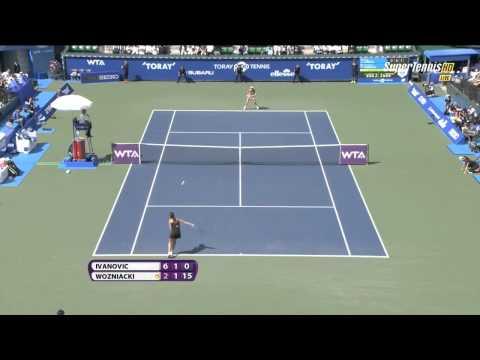 2014 Tokyo FINAL Caroline Wozniacki vs Ana Ivanovic Highlights