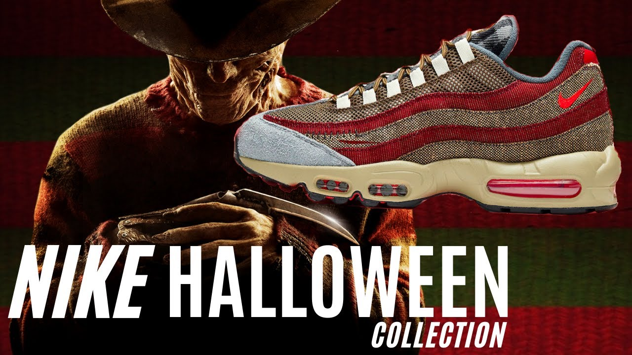 Freddy Krueger Air Max 95 + ENTIRE Nike Halloween Collection 2020