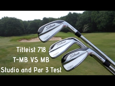 Titleist T-MB Irons Review Power Iron vs Blade Iron - Studio Test and Par 3 Competition!!!