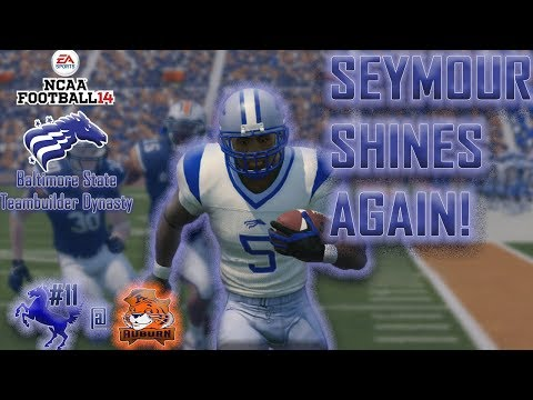 Star RBs Duel For Positional Supremacy | NCAA Football 14 Baltimore State Dynasty Y4,G3 @ Auburn