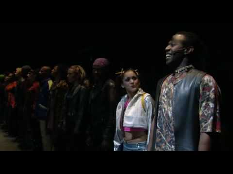 seasons of love rent filmed  on broadway