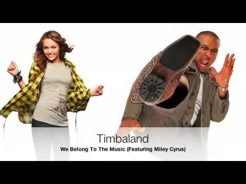 Timbaland feat. Miley Cyrus - We Belong To The Music (Shock Value II)