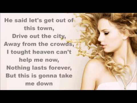 Taylor Swift wildest dream  lyrics