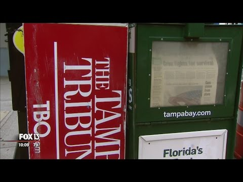 Tampa Bay Times buys, closes The Tampa Tribune