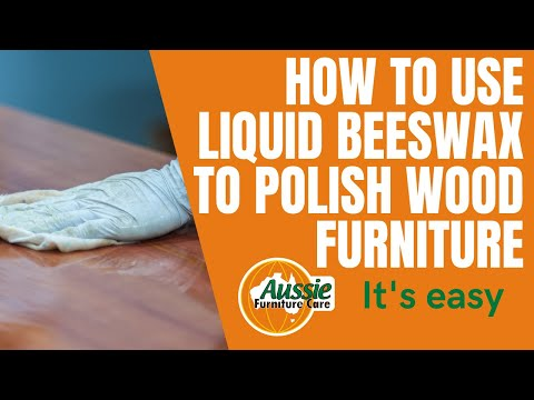 How To Use Aussie Furniture Care Quick Polish For Cleaning & Polishing Timber Furniture