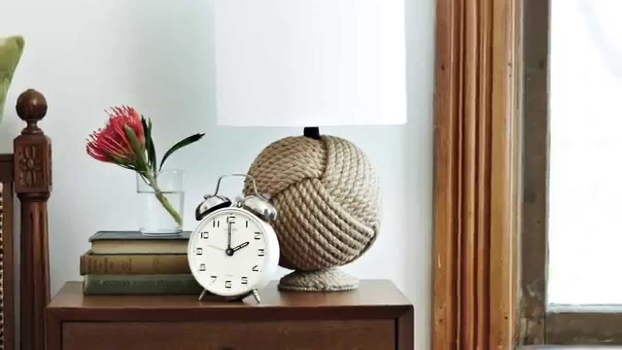 Interior Design — How To Use Rope Accessories To Add Nautical Summer ...