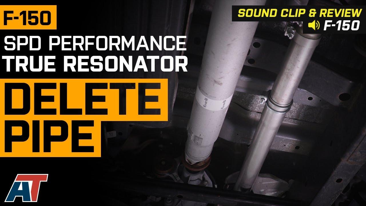 SPD Performance True 3 in  Resonator Delete Pipe (11-19 F-150)