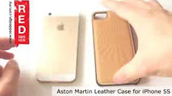 Aston Martin Genuine Leather Case for iPhone 5 iPhone 5S