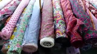 Whole sale Cloth Market Visit