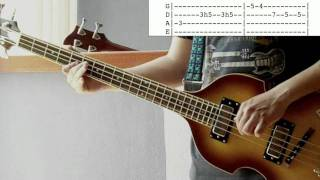 CCR Have You Ever Seen The Rain bass lesson & cover with tabs