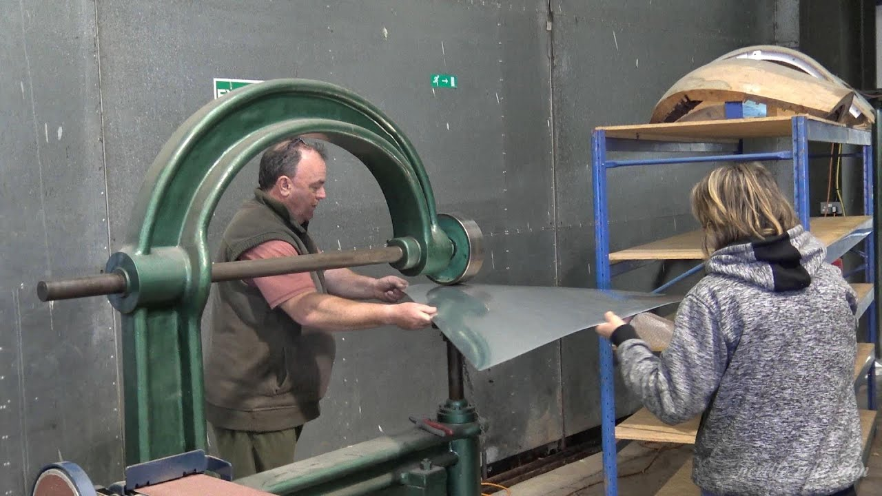 Video 95 Restoration of Lancaster NX611 Year 4. The wingtip trailing edge casting arrive.