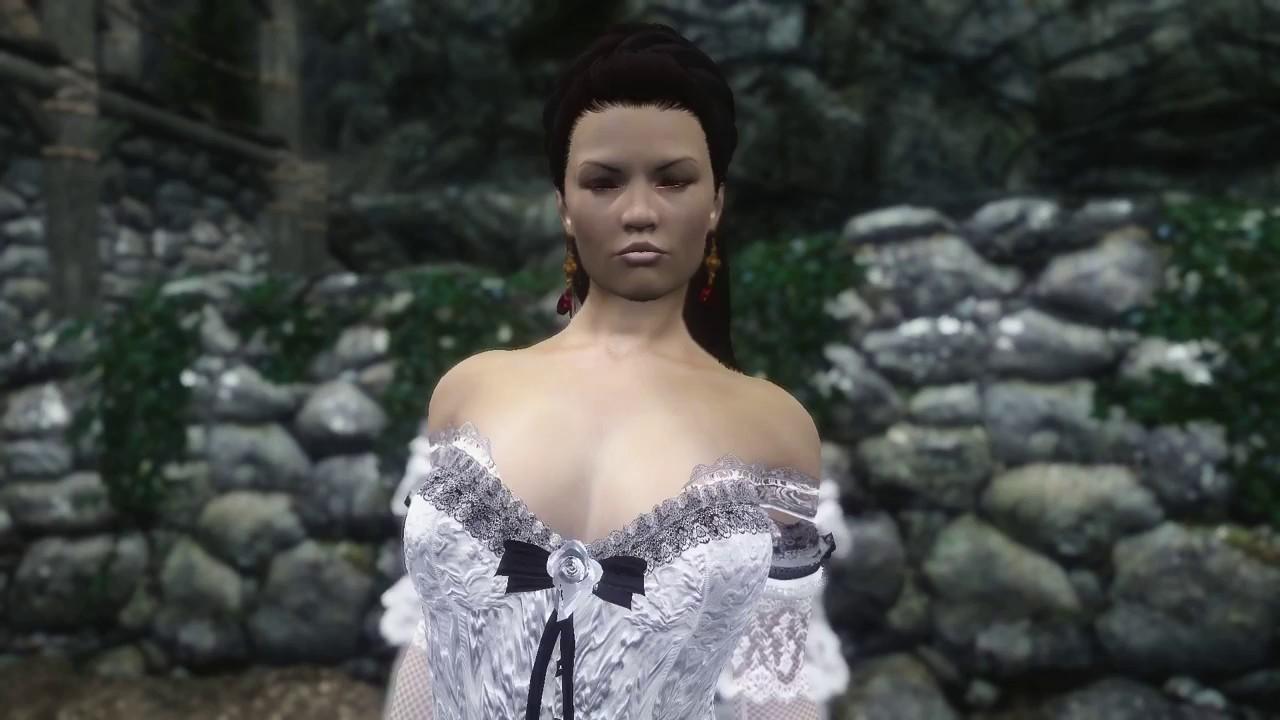 Slutty Wedding Dress.Tesv 2018 Wedding Dress 3 And 1 2 Unp Hdt Original Slut Princess