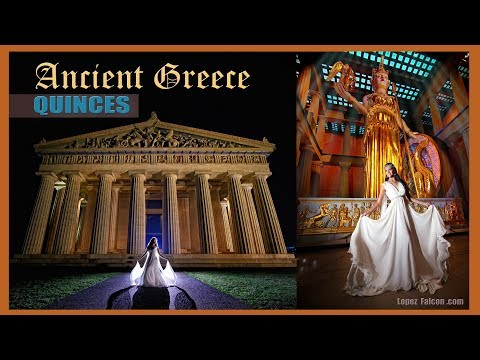 ANNABELLA QUINCES PHOTOGRAPHY & VIDEO QUINCEANERA DRESSES MIAMI ANCIENT GREECE SWEET 15 PHOTO SHOW