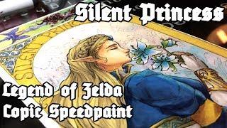 [Silent Princess] Legend of Zelda Breath of the Wild Copic Speedpaint