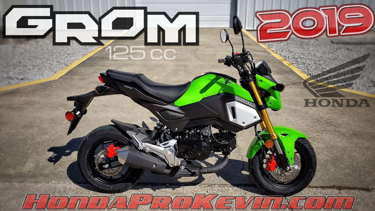 2020 Honda Grom 125 Review / Specs! | 125cc Mini Bike / Motorcycle