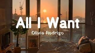 All I Want Olivia Rodrigo Terjemahan MP3
