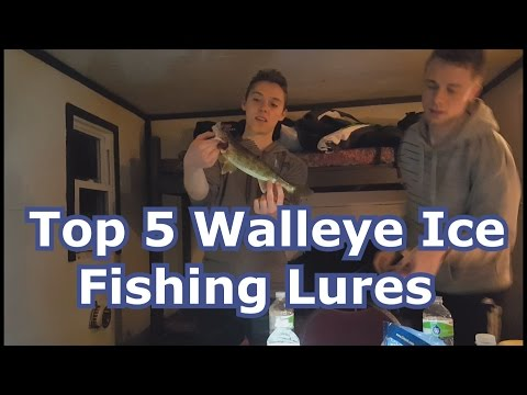 Best 5 Walleye Ice Fishing Lures And Tips