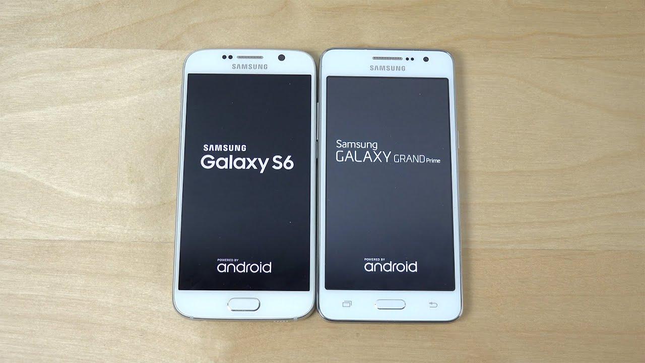 Samsung Galaxy S6 Vs  Samsung Galaxy Grand Prime