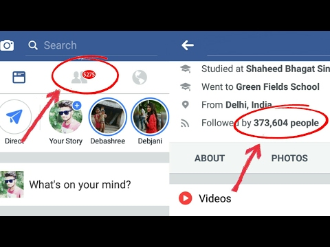 How To Increase Facebook FOLLOWERS & Get Unlimited FRIEND REQUEST 2019 In Hindi