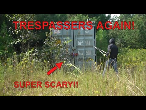 Download The Trespassers Were Back!! This Time They Left Something!