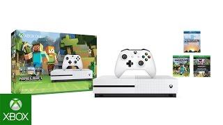Xbox One Minecraft Favorites Bundle 4K Unboxing