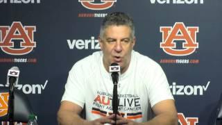Auburn coach Bruce Pearl recaps win over Alabama