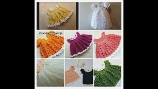 #CROCHET BABY DRESS CROCHET INFANT DRESS CROCHET TODDLER DRESS 8 CROCHET TUTORIAL COMPILATION #2