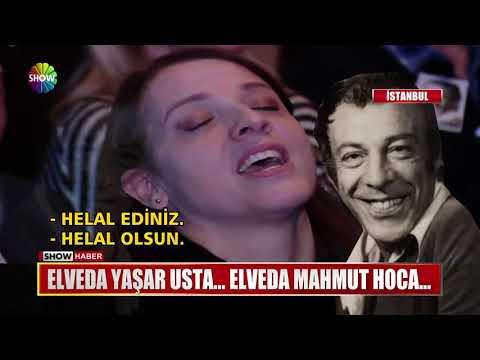 Elveda Yaşar Usta... Elveda Mahmut Hoca...
