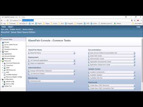 JPA One-to-many Eclipse Project #2 - Installing Glassfish 4 1