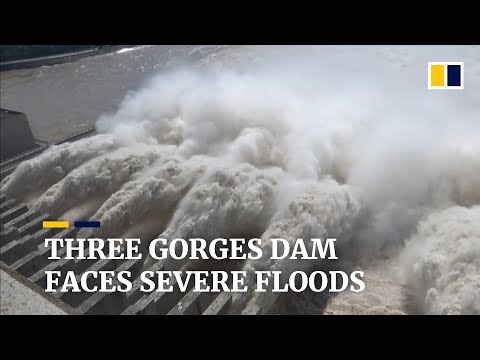China's Three Gorges Dam faces severe flooding as Yangtze overflows
