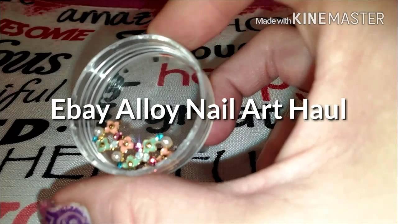 Ebay Alloy Nail Art Haul - YouTube