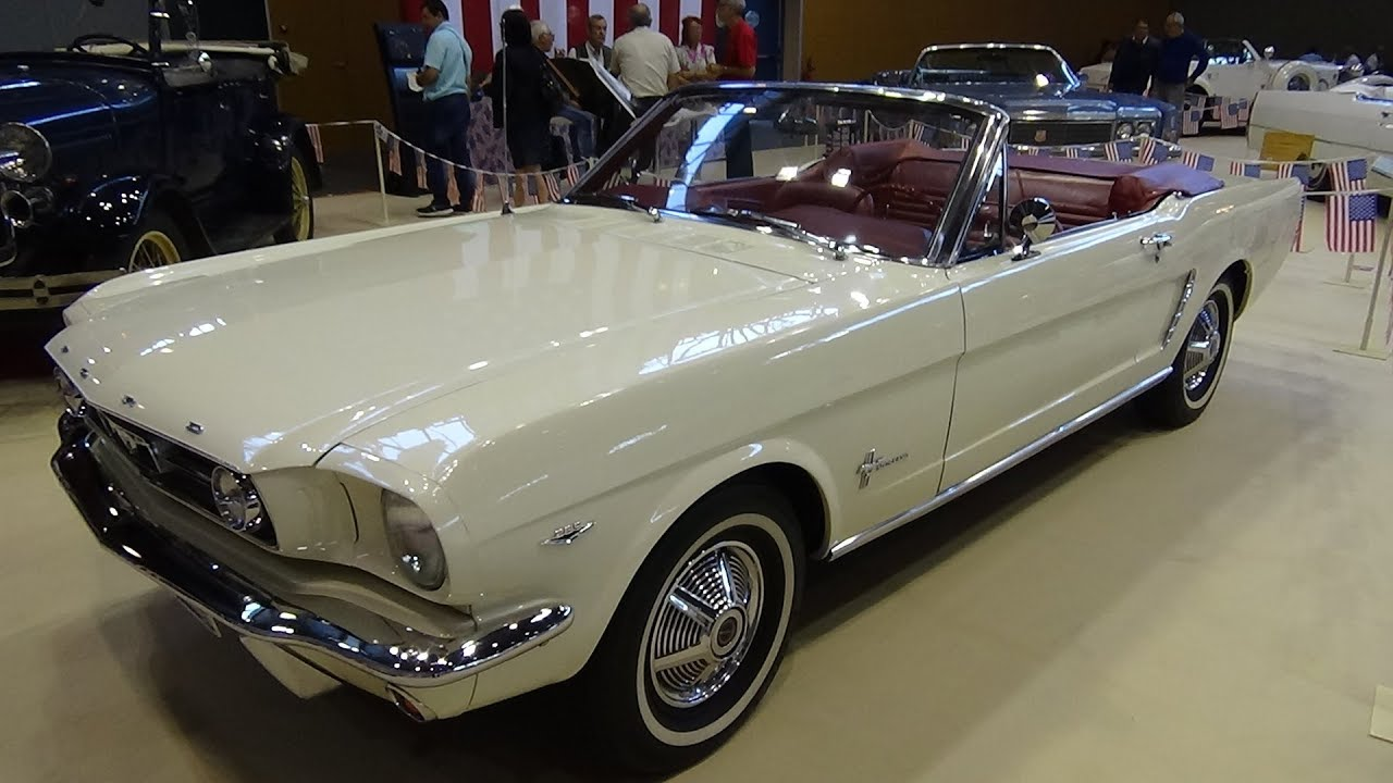 1965 ford mustang v8 cabrio exterior and interior. Black Bedroom Furniture Sets. Home Design Ideas