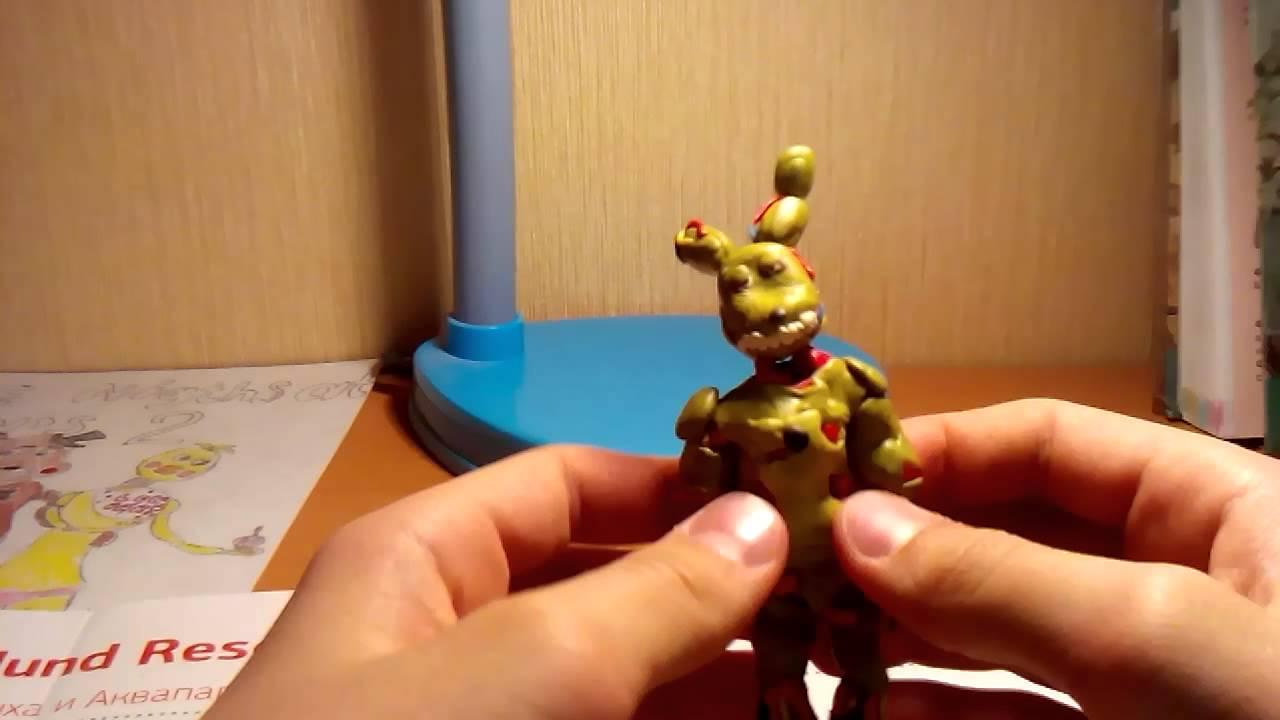 Видео как сделать из пластилина аниматроников