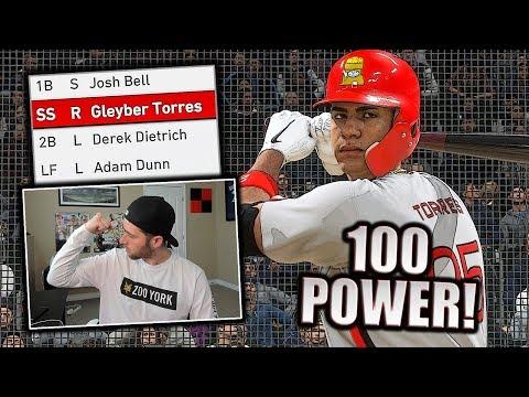 100 POWER TEAM BUILD! MLB THE SHOW 19 DIAMOND DYNASTY