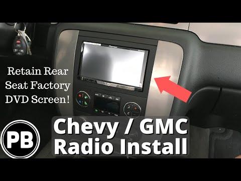 2007 - 2014 Chevy GMC Stereo Install Tahoe Suburban Yukon Impala Avalanche