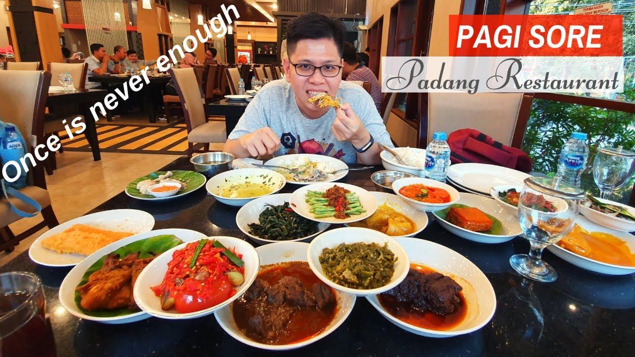 PAGI SORE PADANG RESTAURANT - INDONESIA Food Review